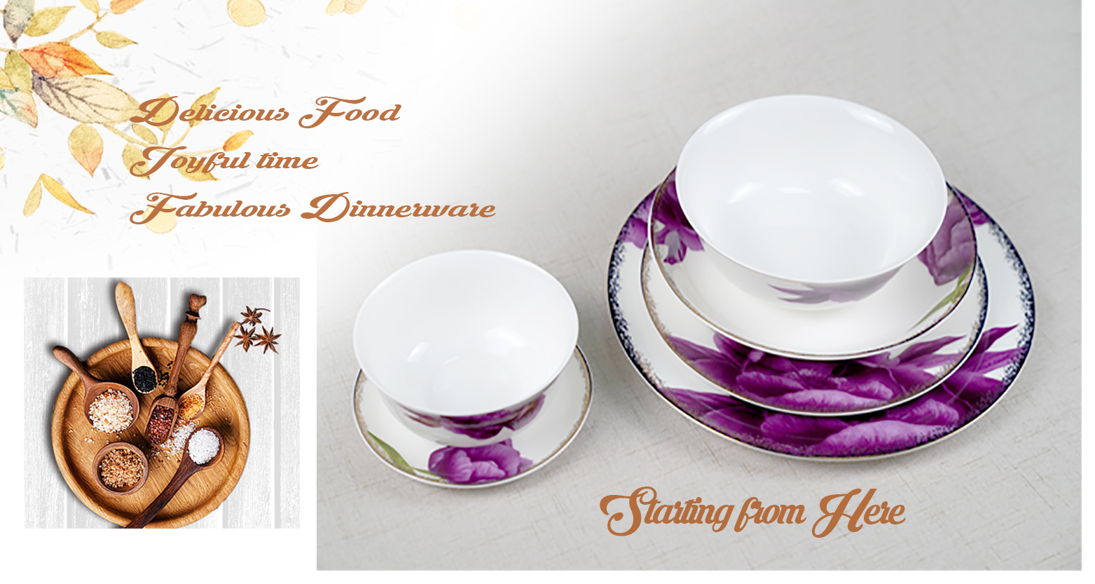 Rusia Royal Classic Halus Bunga Bone China Tembikar Alat Makan Set