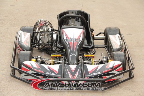 270cc rental go kart/adult pedal go kart two seater