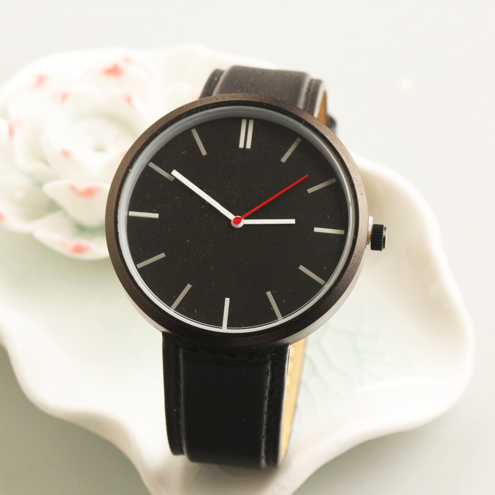 alibaba china manufacturer custom made watches simple men black watch