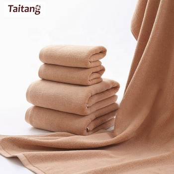 Wholesale Home Spa 100% Cotton Luxury Various Plain Color Bathroom Towel Sets Cheap Bath Towel Towels 5 Star Hotel