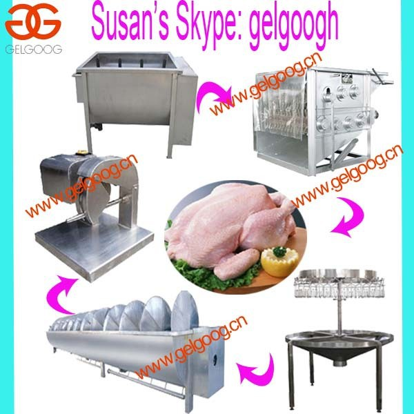 Automatic poultry abattoir equipment machine |chicken poultry slaughter machine