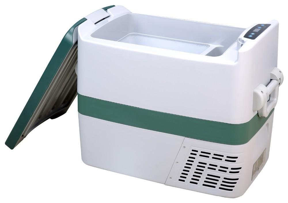Auto Kühlschrank Kompressor : L dc v v tragbare auto kühlschrank gefrierschrank mit