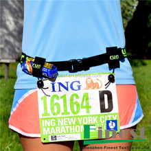For Running Triathlon Marathon Race Number Bib Belt
