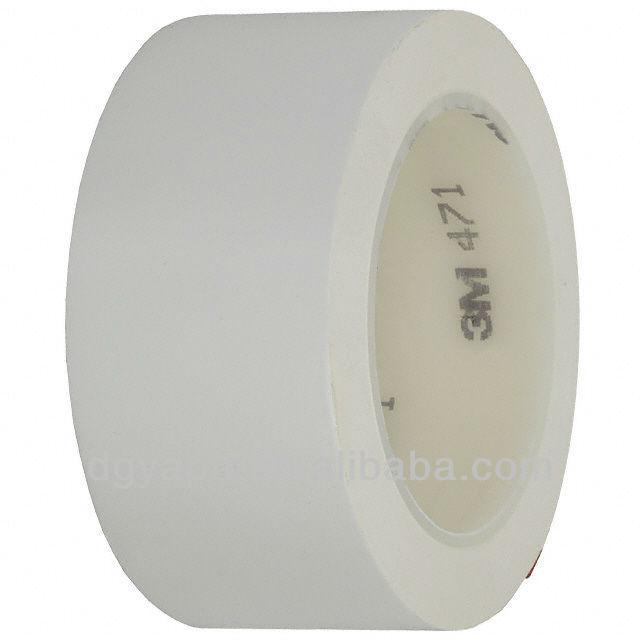3m Pvc Vinly Floor Making Tape 471 White Color
