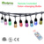 Chinlighting RF Remote control 24ft 12bulbs  RGBW Low voltage LED String light