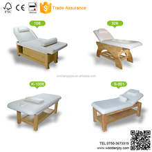High Quality Stationary Solid Wood ayurveda massage table for Micro-surgery