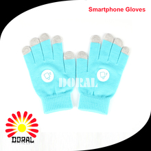 Cheap Fashion Winter Knitted Embroidery Glove Magic Touchscreen Glove