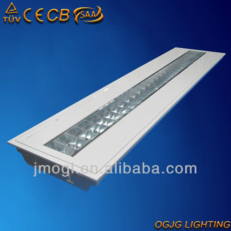 1x28w t5 recessed grid lamp parabolic troffer light CE CB SAA