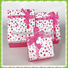 high quality gift box / wedding favor gift box / paper box make in Guangzhou