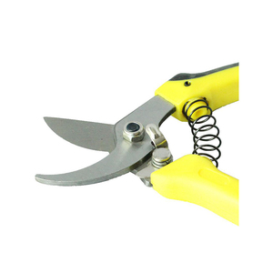 stainless steel short handle multi Twig garden shears pruning tools with ratchet with spring