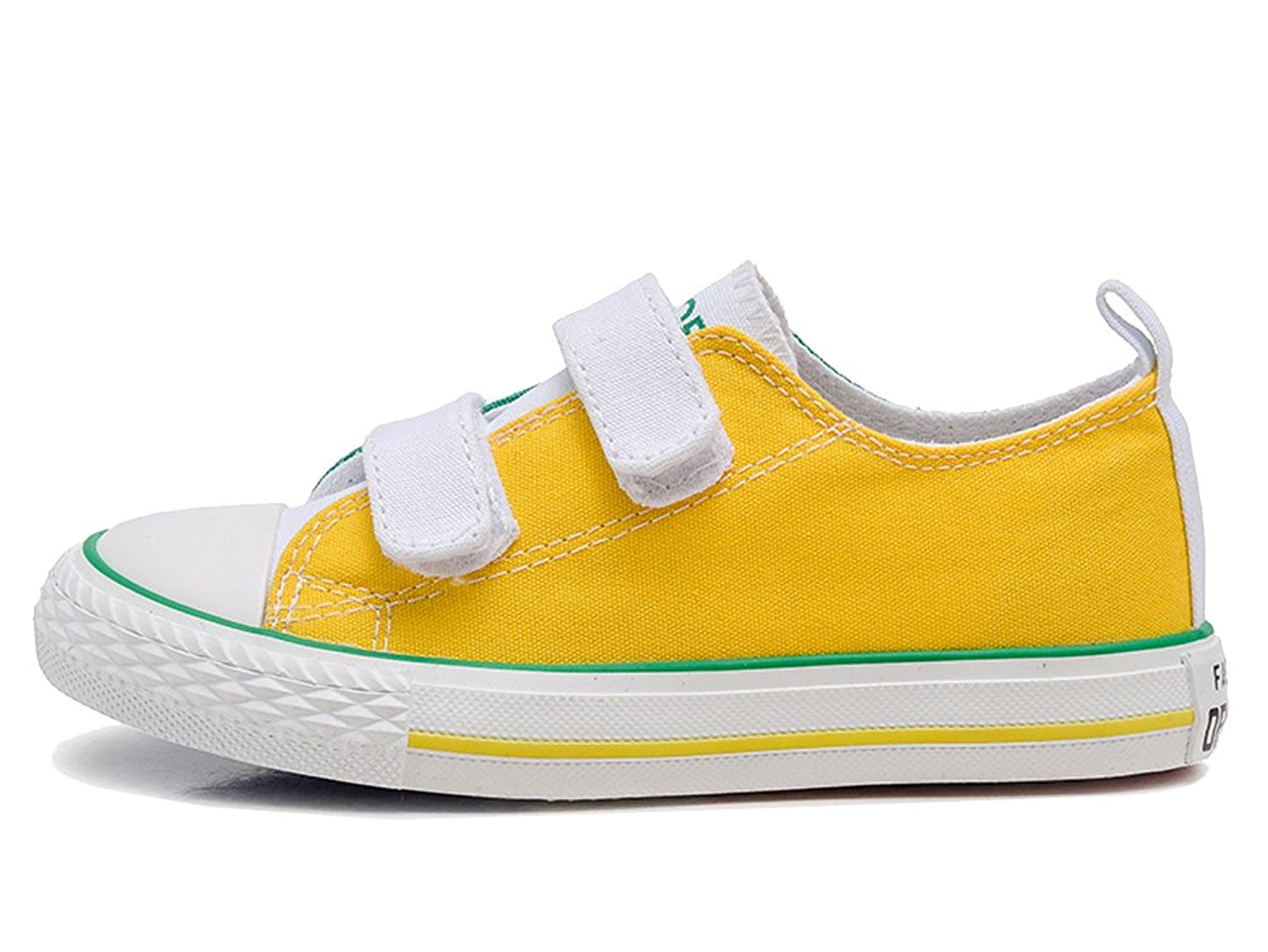 iDuoDuo Kids Contrast Color Fashion Canvas Shoes School Sport Sneakers (Toddler/Little Kid/Big Kid)