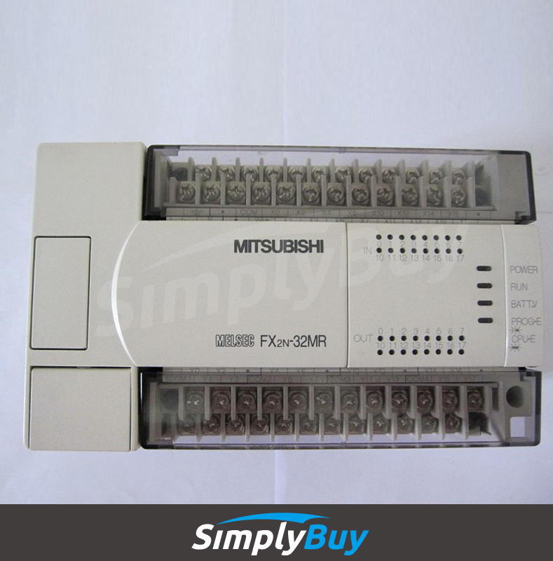 plc splitter ac FX3U-32MR-ES-A base unit with 16 inputs/16 relay outputs FX3U(C)
