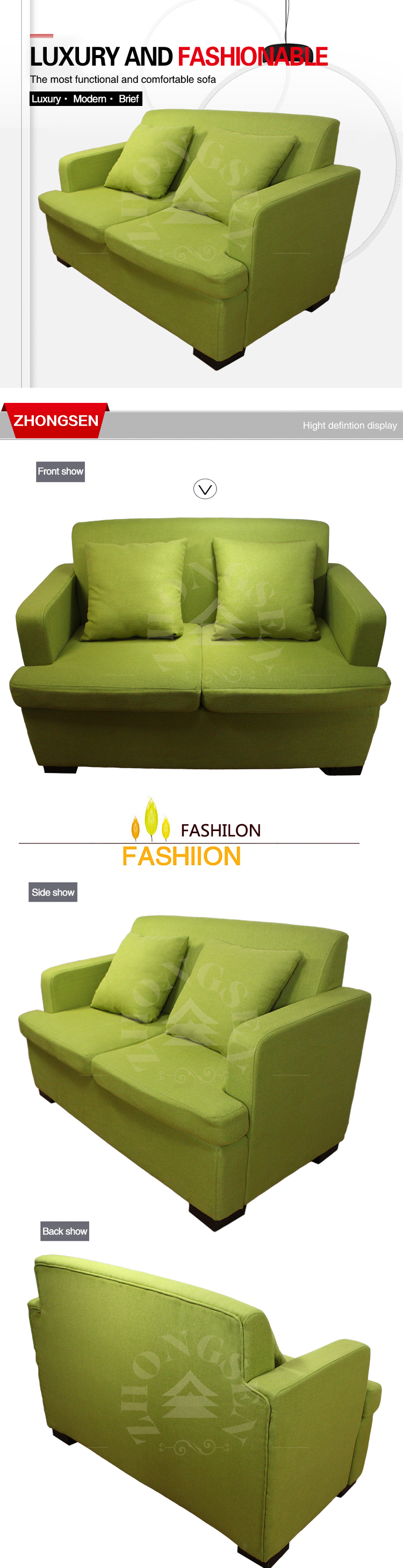 2017 Wholesale Alibaba Green Sofa Bed 2 Seater Sofa From Carrefour