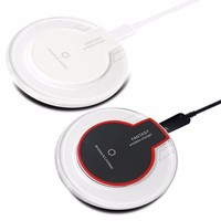 Manufacturer new technology 2018 fast charging Mobile Phones Fast Wireless Charger For samsung