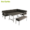 /product-detail/patio-furniture-aluminum-dining-corner-sofa-and-outdoor-benches-60760152379.html