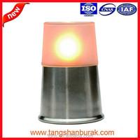 SANTANA decorative glass wicks paraffin oil table lamp for restaurant