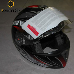 Carbon Fiber Neon colors decals fast custom motorcycle helmet