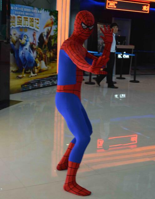 DB23580 Adult spiderman costume-3