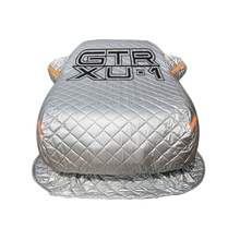 Thicken inflatable auto car cover snowproof retractable car cover