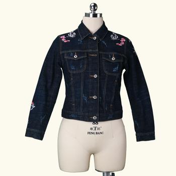 F 18 Uk Smart Casual Cowboy Ladies Spandex Denim Jacket Buy
