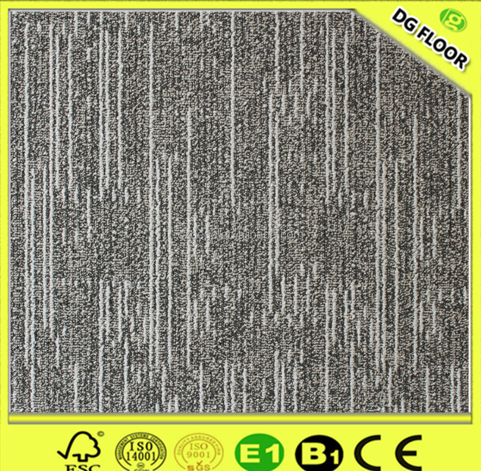 Hot Sale Bitumen Backing Commercial 100% PP Carpet Tiles/Office Capet