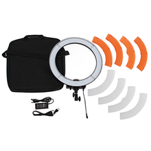 Meking Camera Photo Video 18 Outer 55W 240PCS LED Ring Light 5500K Dimmable Photography Ring Video