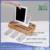 bamboo multi tier phone pad charging station
