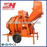 High efficiency JZR series diesel engine mobile concrete mixer with best price on sale in stock