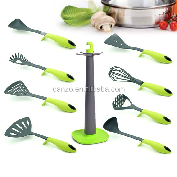 2015 new collection 8pcs Nylon Kitchen Utensil Sets cooking tools