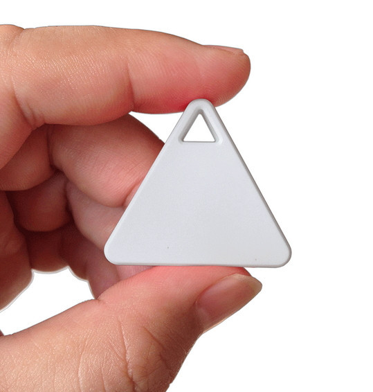 Triangle Wireless Bluetooth 4.0 Key Finder Gadget, Smart Tag to Find Your Keys