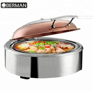 Food warmer electric heater element round rose gold hydraulic yufeh used chafing dishes for sale philippines