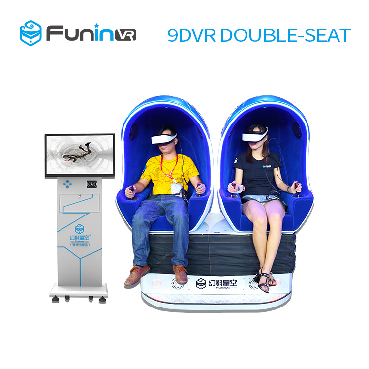 4459a5cb932 Interactive Virtual Reality equipment experience 360 Degree egg VR Cinema  Simulator 9D VR