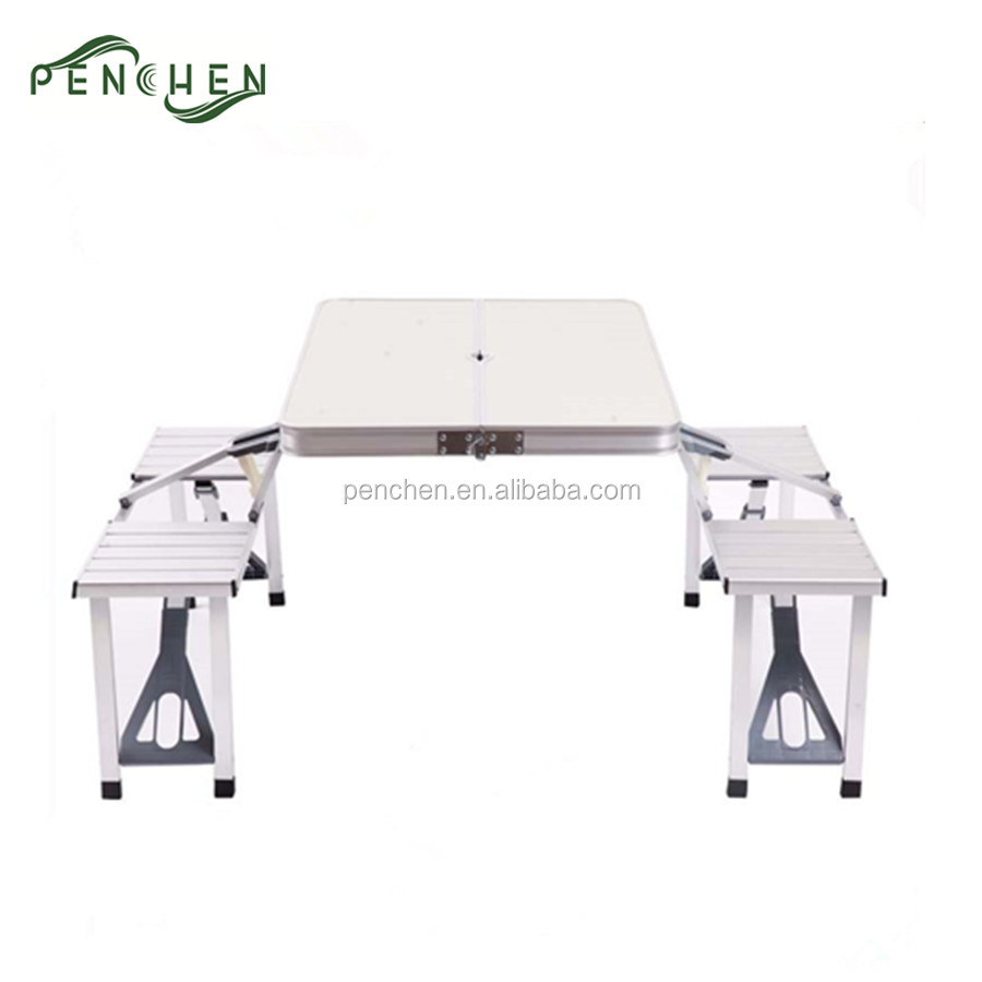 Portable Folding Restaurant Dining Tables And Chairs In Case Buy