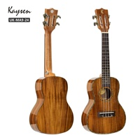 Kaysen high quality solid Acacia wood 24 inch ukulele concert
