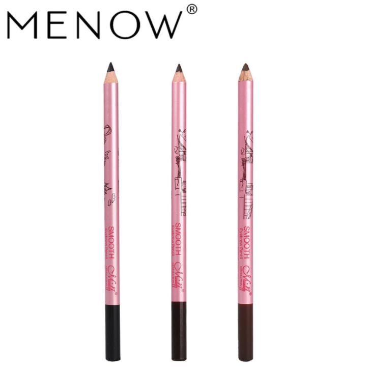 Menow Wooden Pencil Type Best Peel Off Waterproof Eyebrow Pencil