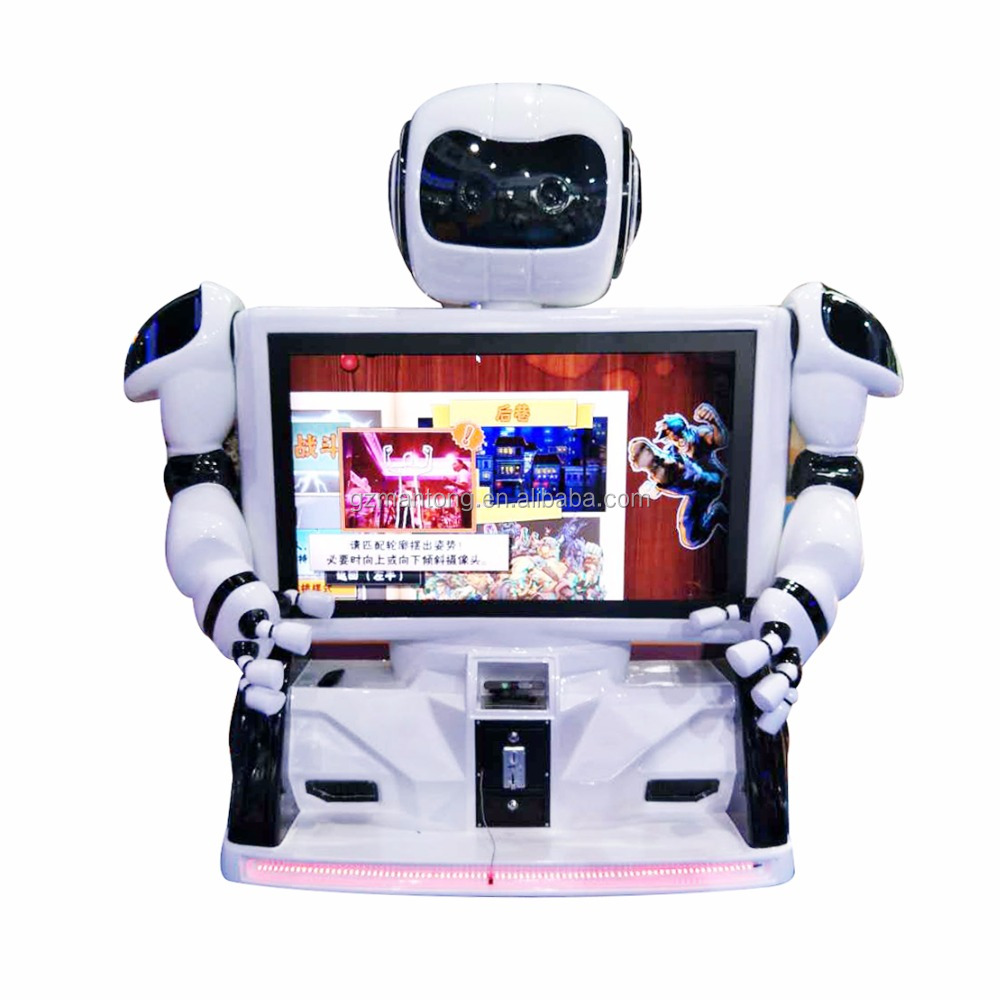 ManTong 2017 kong fu robot interactive motion control vr game machine new vr product for sale