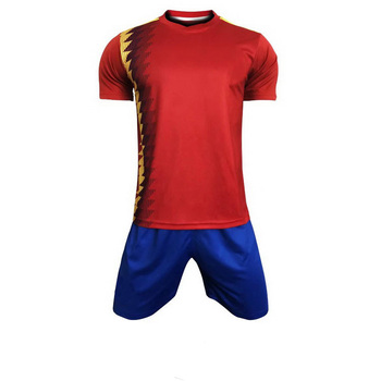 Silonprince custom football shirt maker Wholesale red jersey soccer football shirt