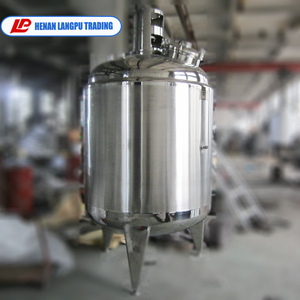 Factory supply Competitive Price Stainless Steel Oil Heated Double Jacketed Mixing Tank