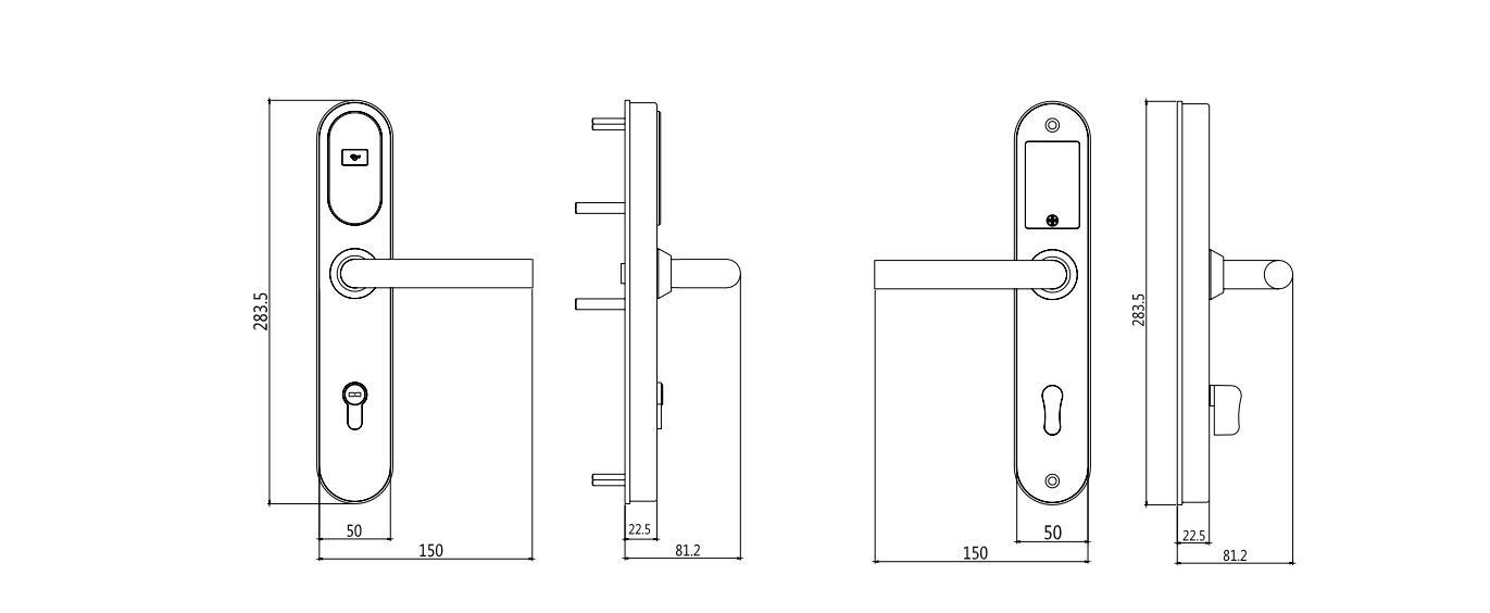 東莞電子スマートrfカードスワイプドアロックホテルルームロックでステンレス鋼用ホテルカードキーロックシステム