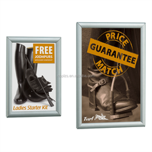 wall hanging advertising frame poster snap frame wholesale in size 24*36,22*28