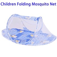 Best Selling Products Multifunctional Foldable Boat Shape Baby Mosquito Netting Tent Bed