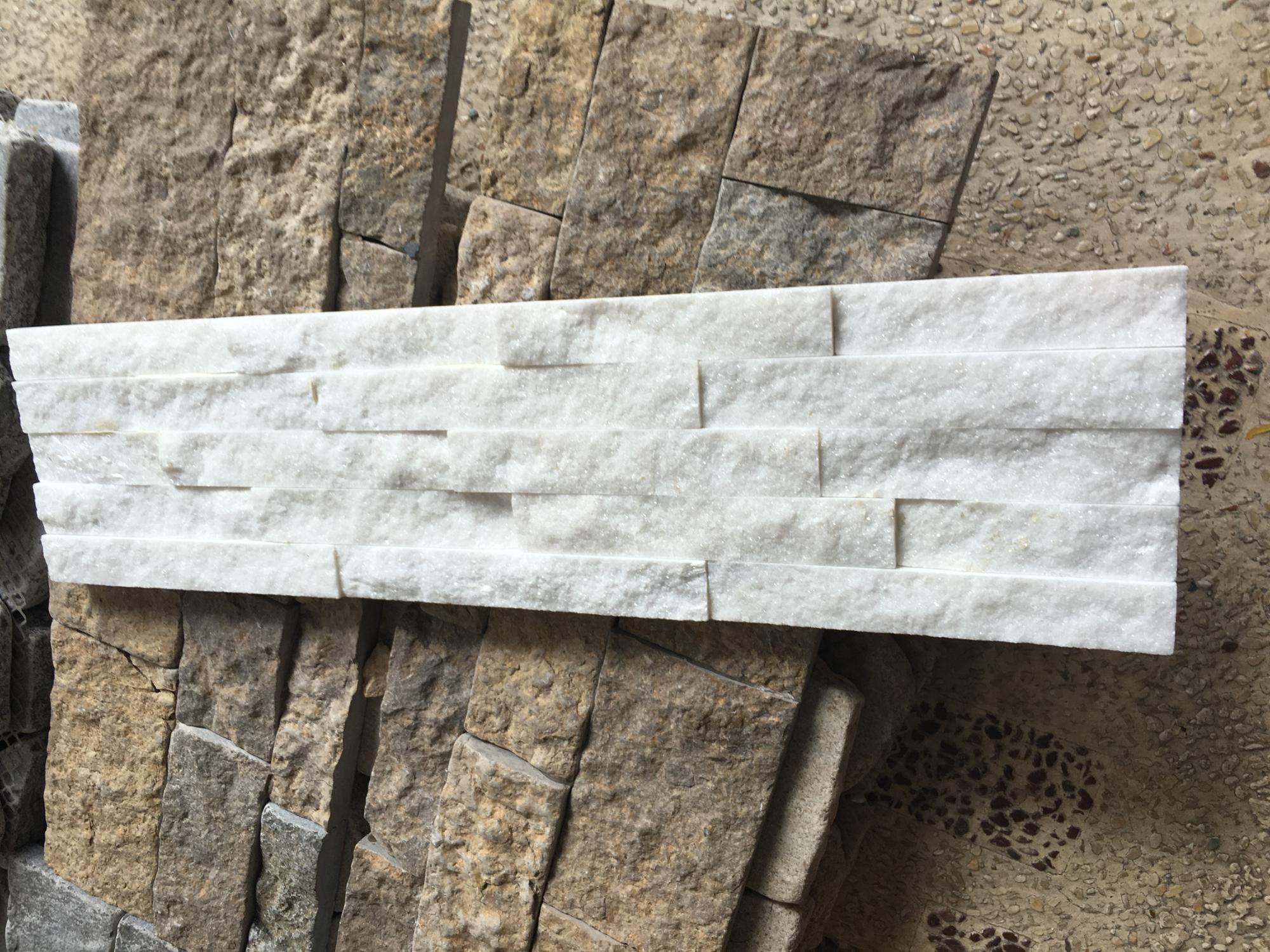 Steen In Interieur : Fabriek direct natuurlijke witte kwartsiet steen voor interieur