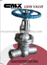 Manual Butt weld Gate Valve