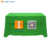 Display banner fabric table cloth