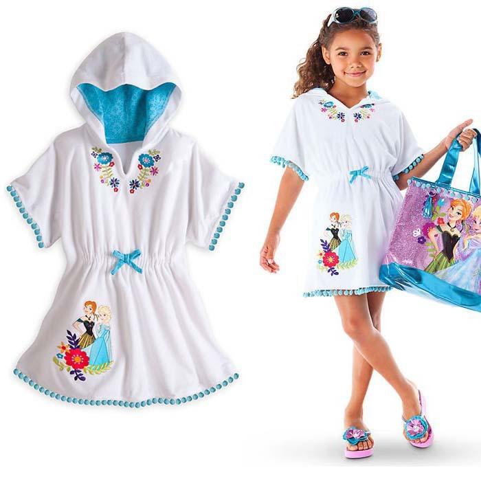 a2882e31d8 Get Quotations · Children frozen Cotton Pajamas Girl Nightgown Dress  Chemise De Nuit Enfant Short Sleeve Nightgown Summer Elsa
