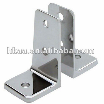 Oem Chrome Plated Stainless Steel Right Angle Bracket
