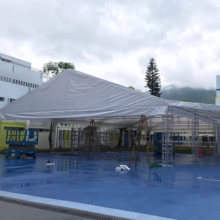 Popular and fashion waterproof polyester tent stage for concert