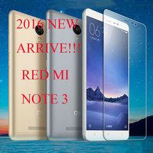 NEW HOT 0.3mm Xiaomi Redmi 3 Tempered Glass 5.0″Original  xiaomi redmi 3 glass 9H Hardness Explosion-proof Screen Protector Film