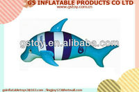 PVC inflatable cool design single blow up whale EN71 approved
