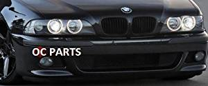 BMW 5 Series M Style Replacement Front Bumper WIth Fog Light Housings: Fits 1996, 1997, 1998, 1998, 2000, 2001, 2002, and 2003 BMW 5 Series E39 BMW